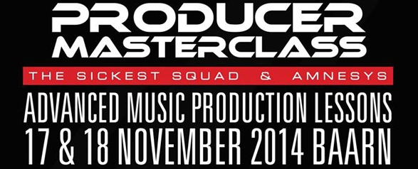 Producer Master Class